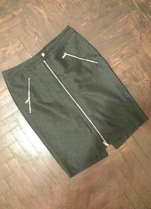 Классическая юбка черная