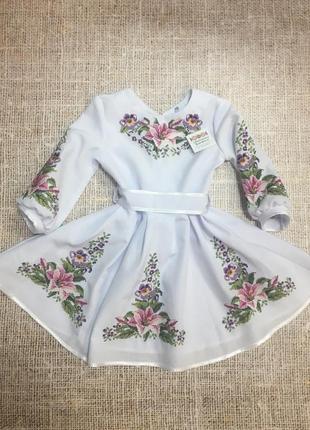 Нежное платье - вышиванка