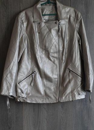 Стильная куртка косуха 56-58