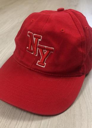 Панама мужская кепка бейсболка ny с надписью