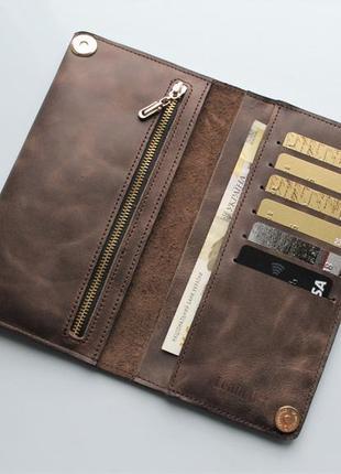 Мужской кошелек из натуральной кожи 4679