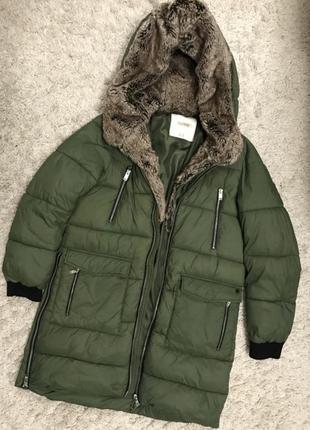 Куртка пуховик пальто дутая зефир пуфер