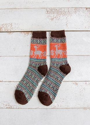 7-35 різдвяні шкарпетки з оленями рождественские новогодние носки с оленями