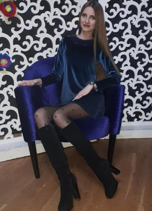 Платье велюр, бархат