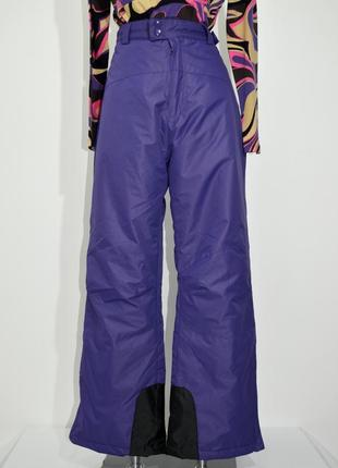 Женские  фиолетовые лыжные штаны janina. код 2829.