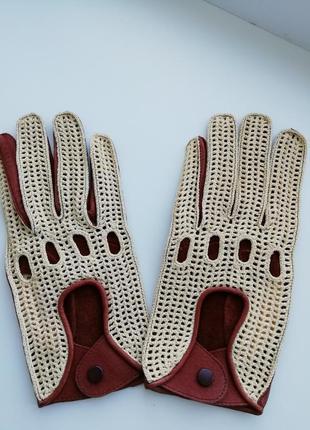 Нові фірмові шкіряні чоловічі рукавички!!!