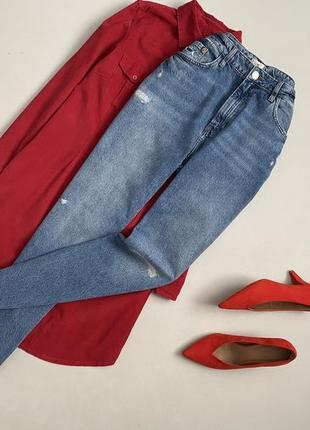 Крутые джинсы мом river island