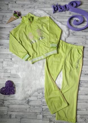 Спортивный костюм cool fashion на девочку двойка салатовый