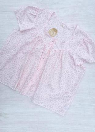 Нежная блузка,пижамная блуза большого размера