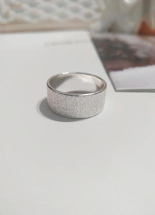 Актуальное матовое кольцо asos, серебристое женское колечко, перстень, каблучка, кільце