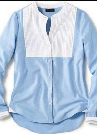 Блузка chambray от helen fischer! от tcmtchibo, германия! оригинал!