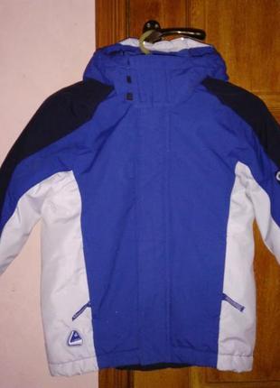 Шикарная зимняя термо-куртка h&m на 6-7лет р.122