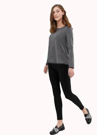 Трикотажный джемпер пуловер р.евро 36 38 s esmara германия
