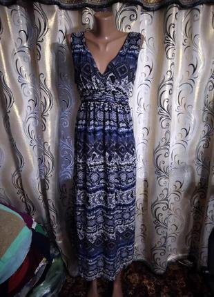 Шикарное длинное платье m&co