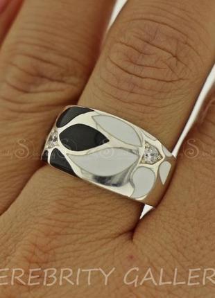 10% скидка подписчику кольцо серебряное i 100604 w.bk 18 серебро 925