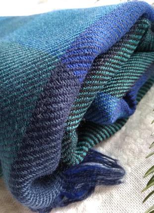 Шерстяной шарф платок тонкий