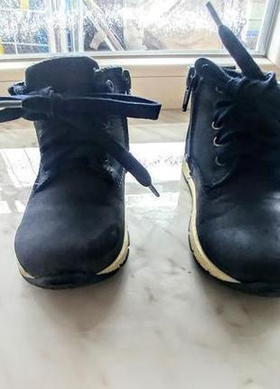 Детские кожаные ботинки. демисезон