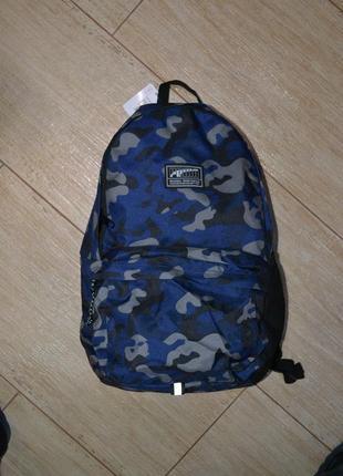 Puma 22l рюкзак новый. оригинал. школьный. спортивный.