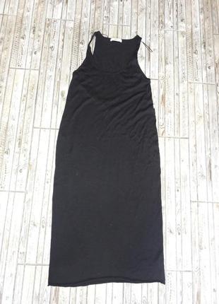 Платье zara длинное летнее2 фото