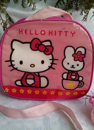 Сумка детская hello kitty (хеллоу китти) sanrio для девочки, оригинальная