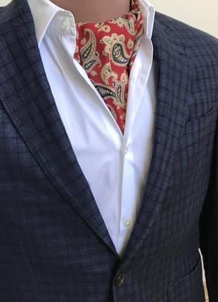 Bally silk ascot  шелковый шейный платок аскот hermès etro