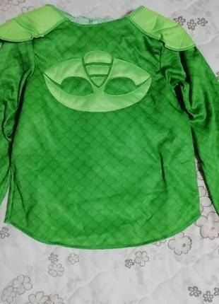 Карнавальный костюм кофта гекко герои в масках  4-6лет