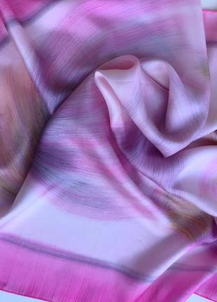 Нежнейший шелковый платок от isabelle de serre  paris