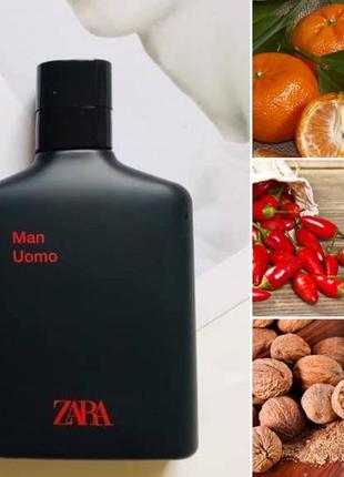 Чоловічі парфуми zara man uomo 100 мл