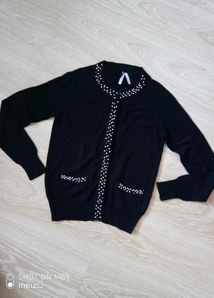 Красивая кофточка кардиган свитер