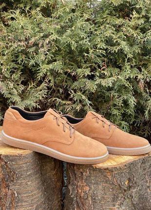 Туфли мужские tommy hilfiger brown leather