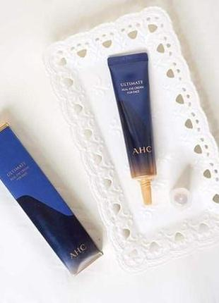 Крем для век и лица с пептидами ahc ultimate real eye cream for face 12 мл 6 сезон крема