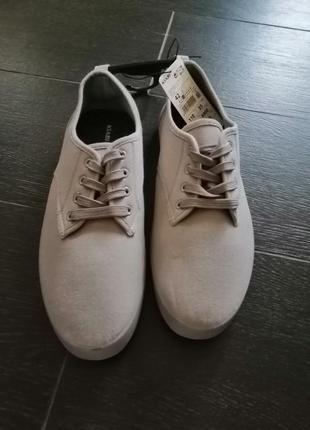 Туфли  kiabi серые