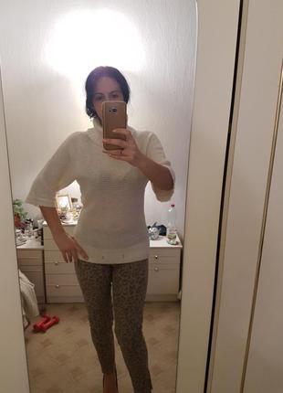 Классный телый свитер 46-48 р