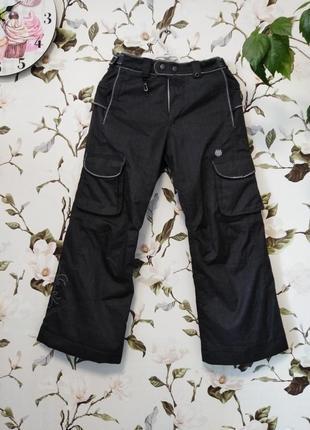 Мембранные зимние термо штаны лыжные michael akirawest 140 146 152 рост
