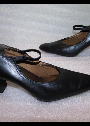 Распродажа ! туфли 100% натур кожа~clarks cushion soft ~36 - 37