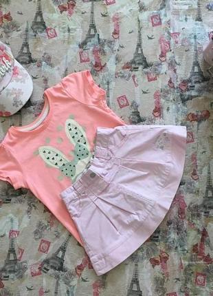 Классная юбка chicco на 1-1,5 года в идеале