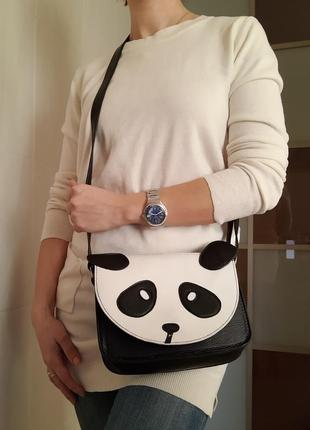 Молодежная сумочка через плечо панда  🐼