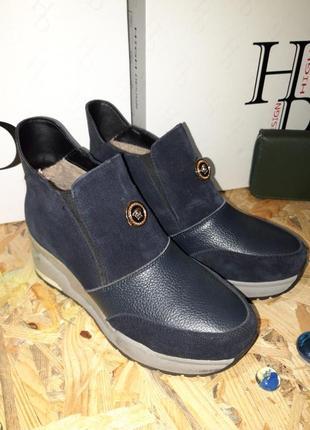 Спорт ботиночки на танкетке. новые!!!