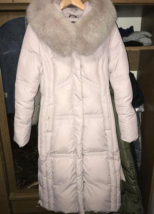 Пальто-пуховик{зимнее}