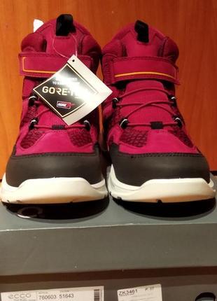 Новые с бирками! демисезонные сапоги ботинки gore tex ecco.