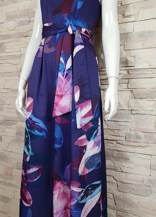 Длинное платье в цветочный принт closet p.10/m