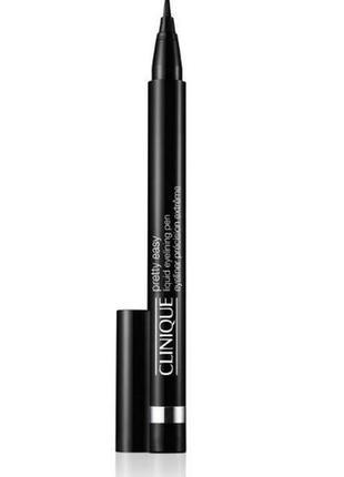 Жидкая подводка для век clinique pretty easy liquid eyelining pen, 0,34 гр