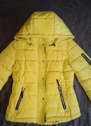 Куртка парка пуховик дутая пуфер зефир пальто
