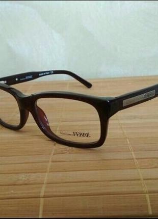 Классическая новая оправа под линзы,очки  g.ferre gf 009 04 оригинал