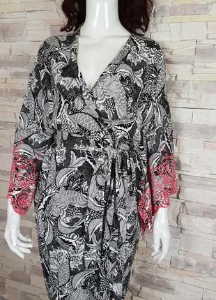 Красивый халат с вышивкой tu p.8/s