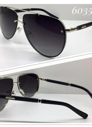 Солнцезащитные очки авиаторы линзы с поляризацией