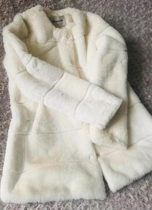 Шуба куртка мех полушубок жилетка