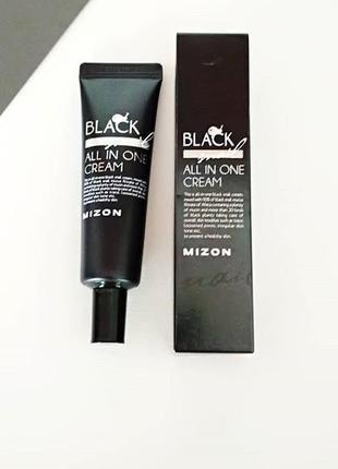 🖤крем с черной улиткой mizon black snail all in one cream, 35 мл