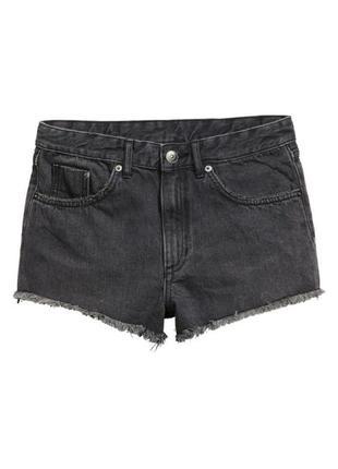 Крутые короткие шорты h&m 42