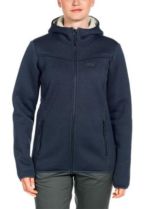 Кофта на меху, куртка jack wolfskin, оригинал, р-р м или 40